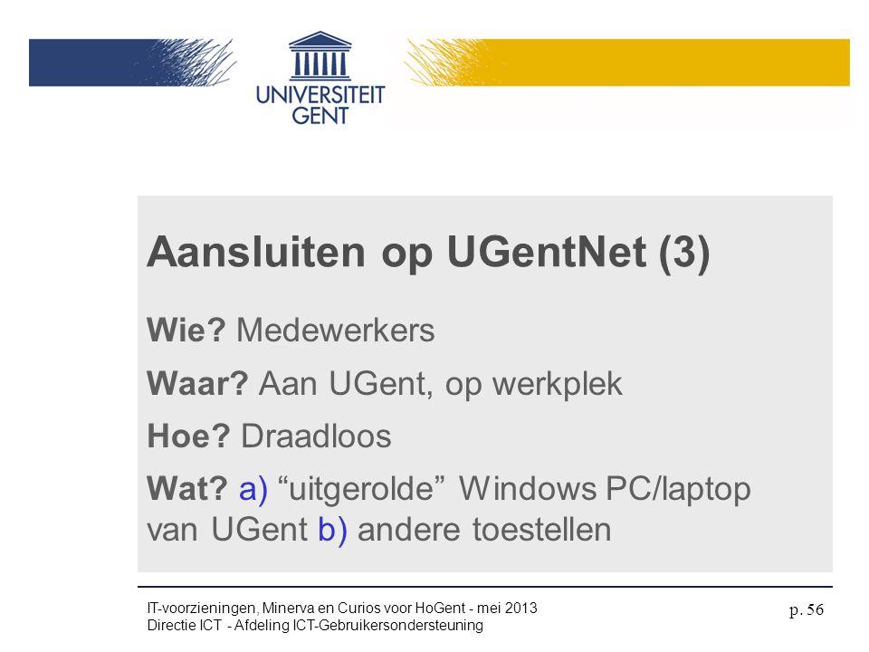 Aansluiten op UGentNet (3)