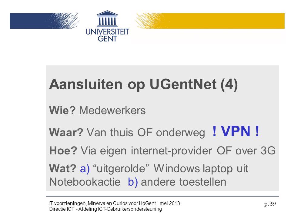 Aansluiten op UGentNet (4)
