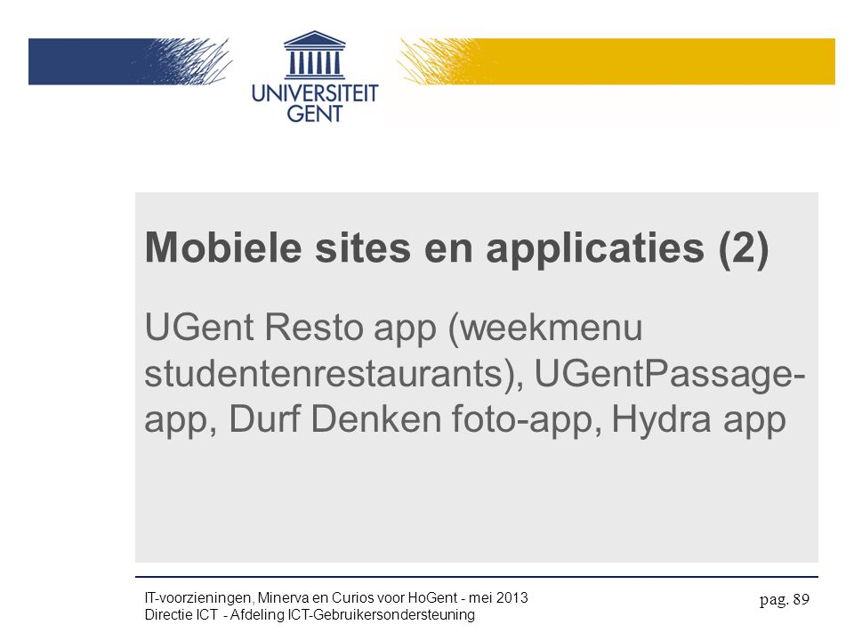 Mobiele sites en applicaties (2)