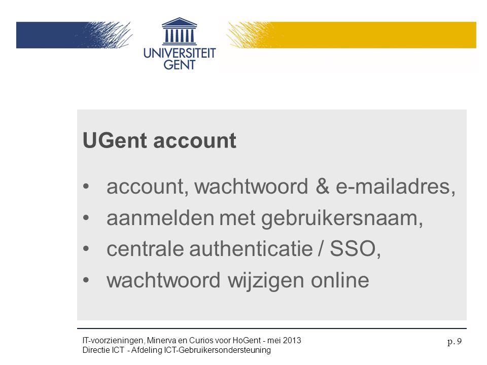 account, wachtwoord & e-mailadres, aanmelden met gebruikersnaam,