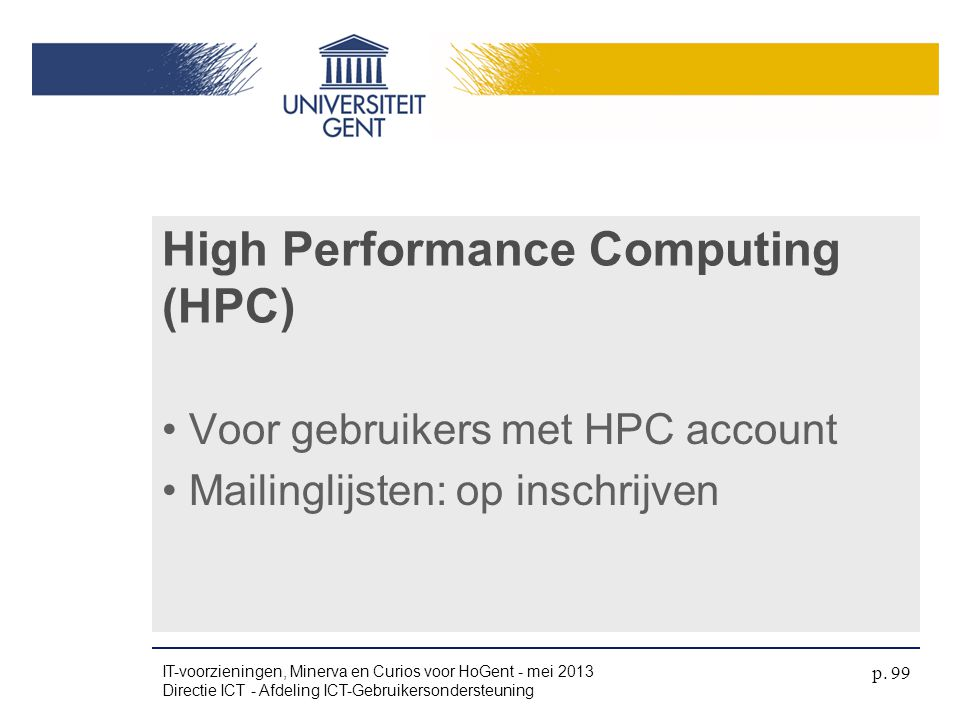 High Performance Computing (HPC)