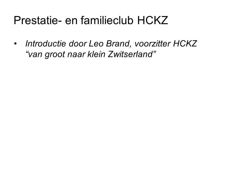Prestatie- en familieclub HCKZ