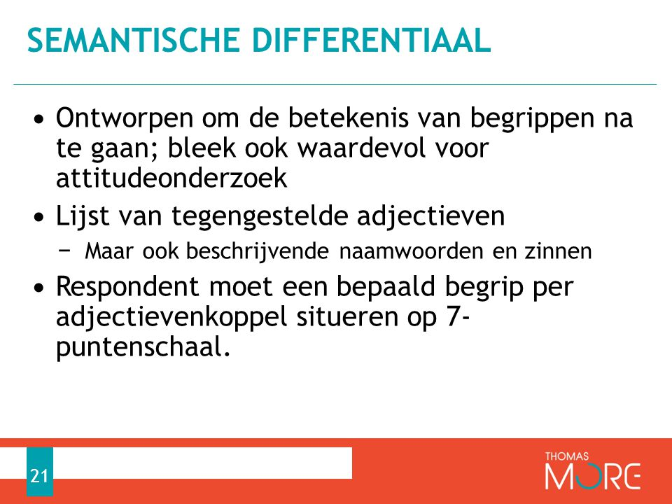Semantische differentiaal