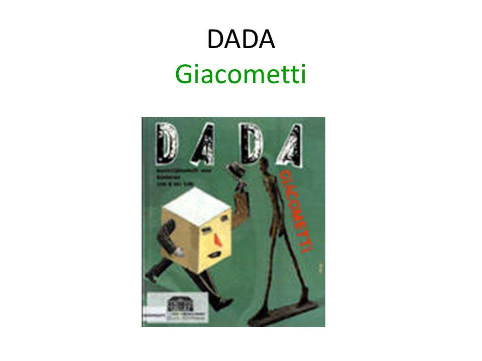 DADA Giacometti