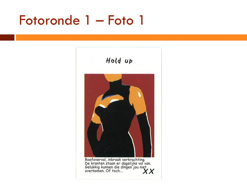 Fotoronde 1 – Foto 1