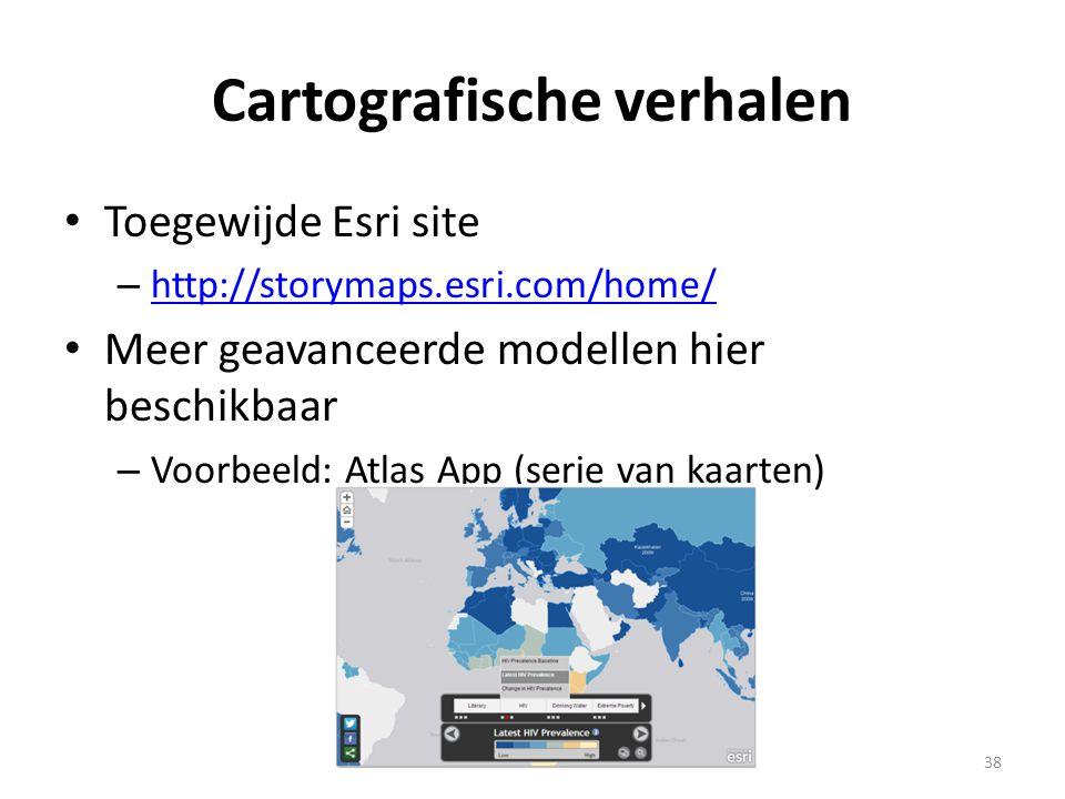 Cartografische verhalen