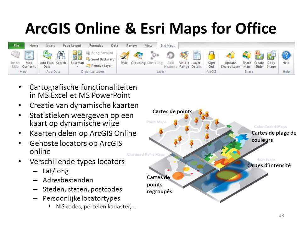 ArcGIS Online & Esri Maps for Office