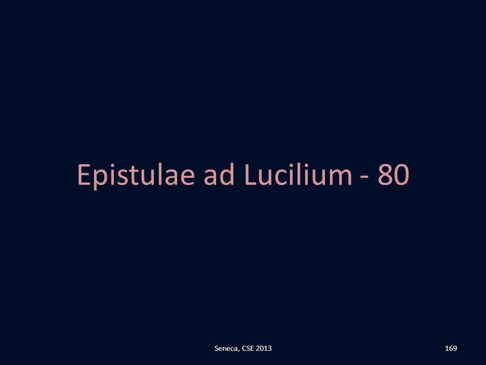 Epistulae ad Lucilium - 80