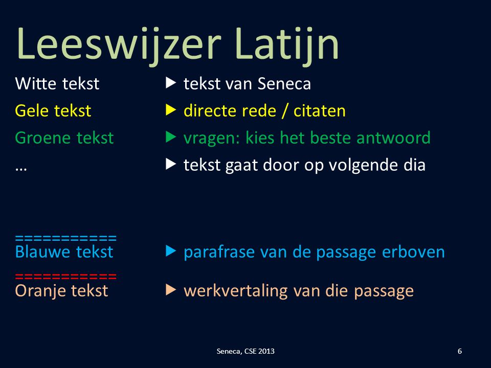 Citaten Seneca Latijn : M de hoon johan witt gymnasium ppt download