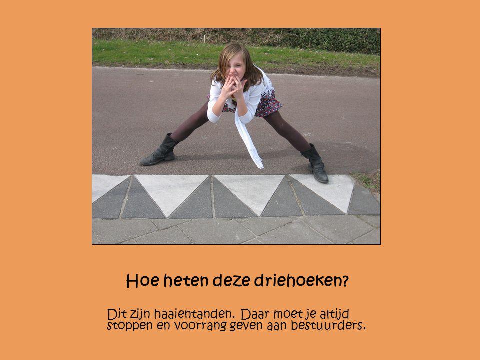 Hoe heten deze driehoeken