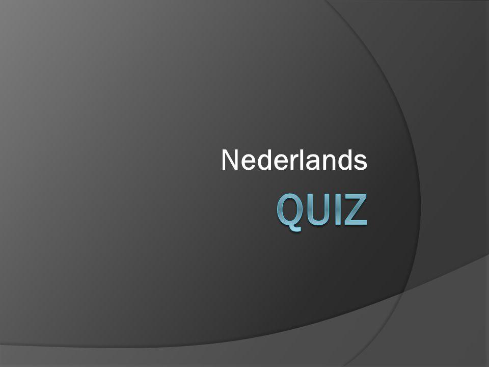 Nederlands Quiz