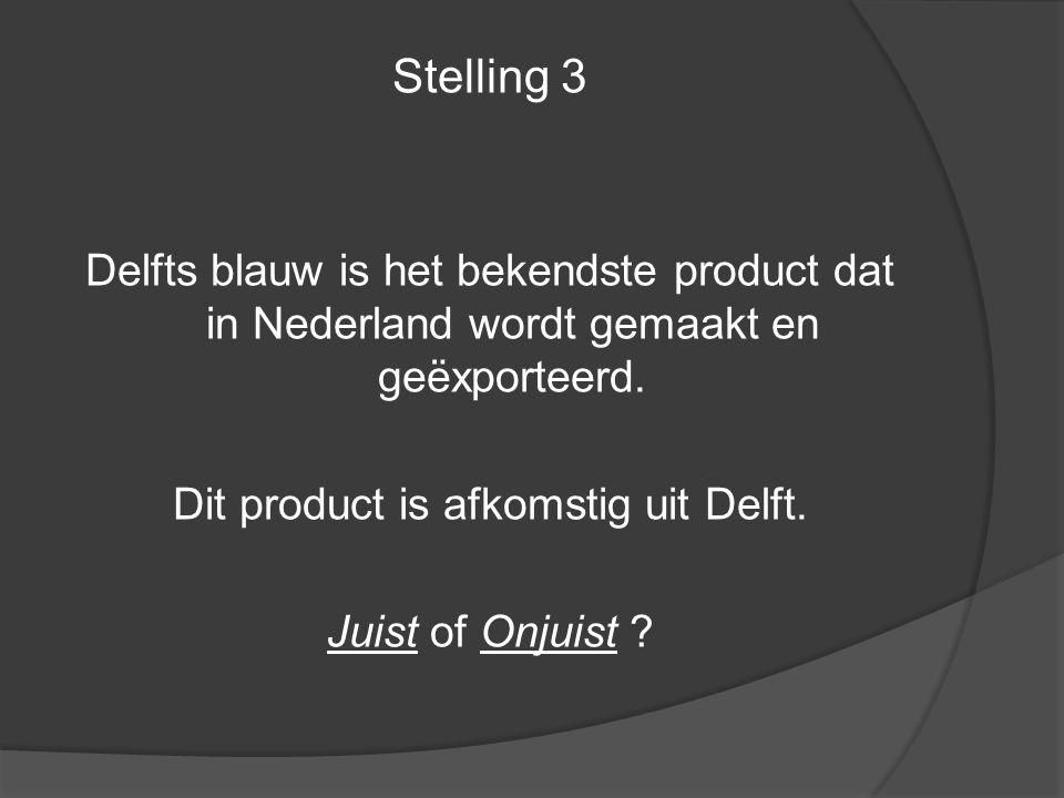 Dit product is afkomstig uit Delft.