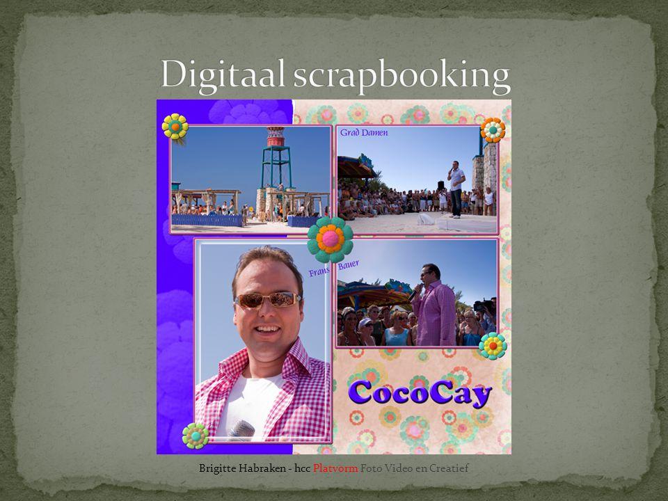 Digitaal scrapbooking