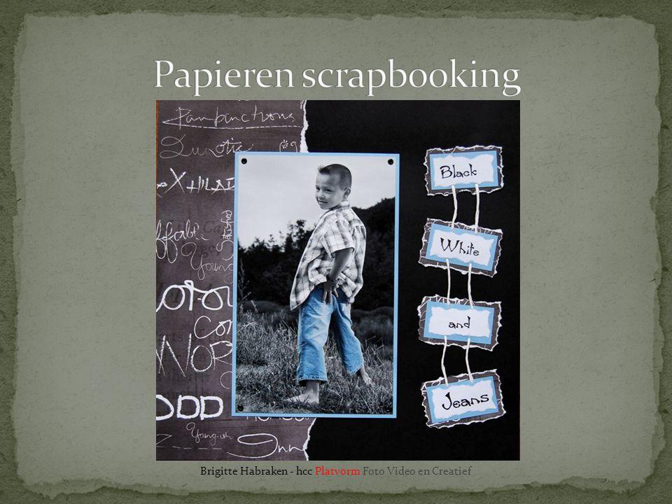 Papieren scrapbooking