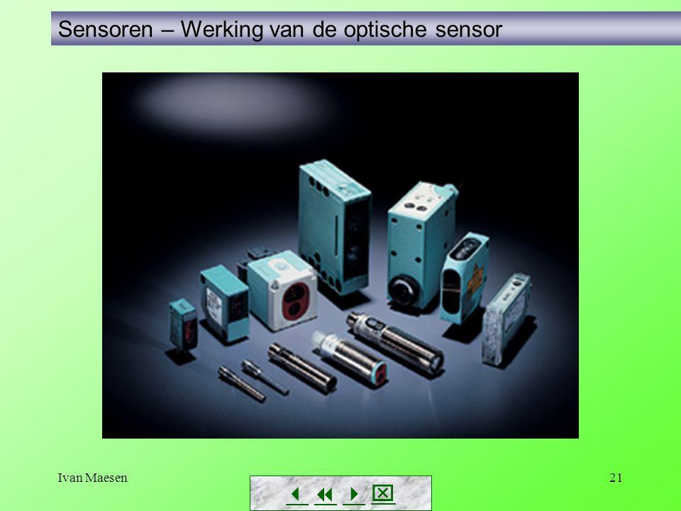 Sensoren – Werking van de optische sensor