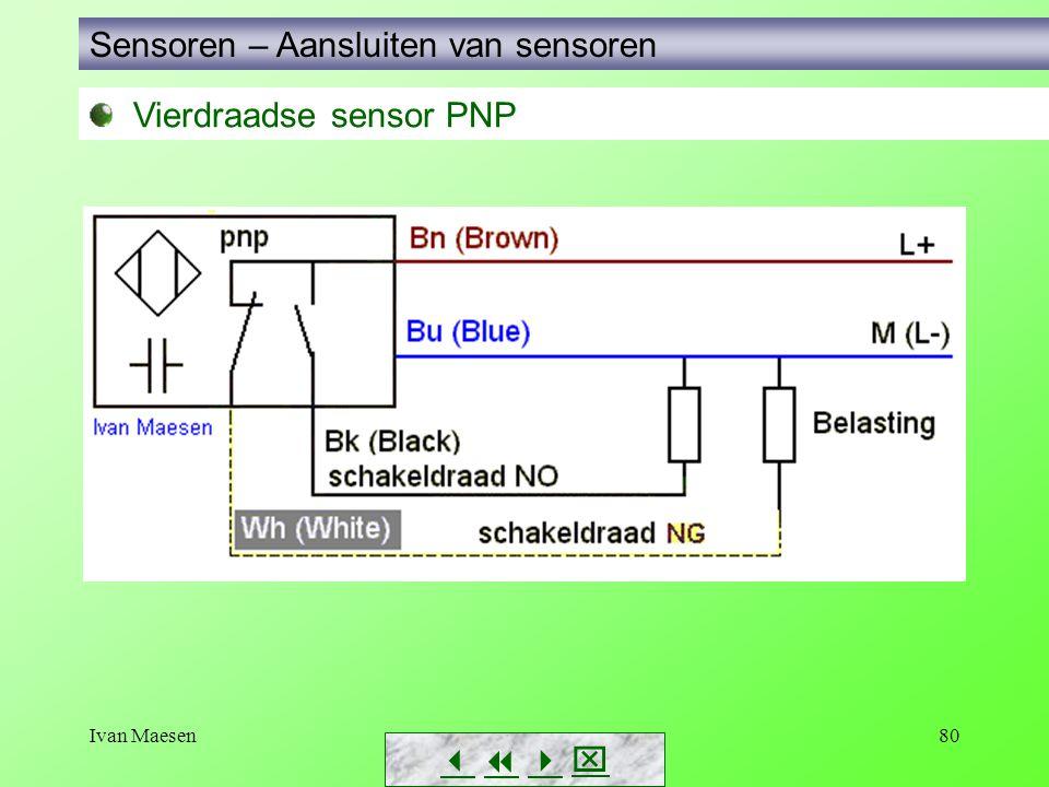 Sensoren – Aansluiten van sensoren
