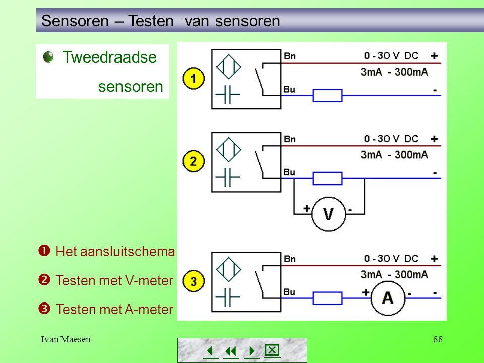 Sensoren – Testen van sensoren