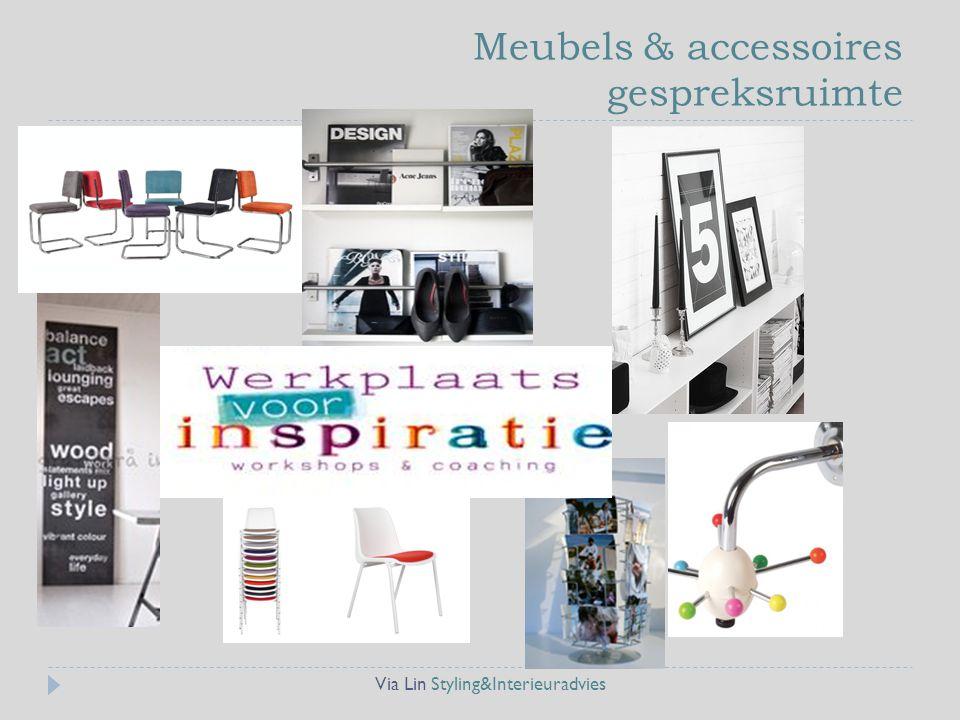 Meubels & accessoires gespreksruimte
