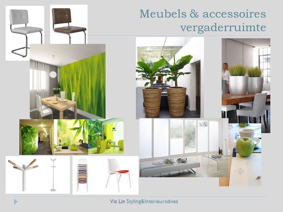 Meubels & accessoires vergaderruimte
