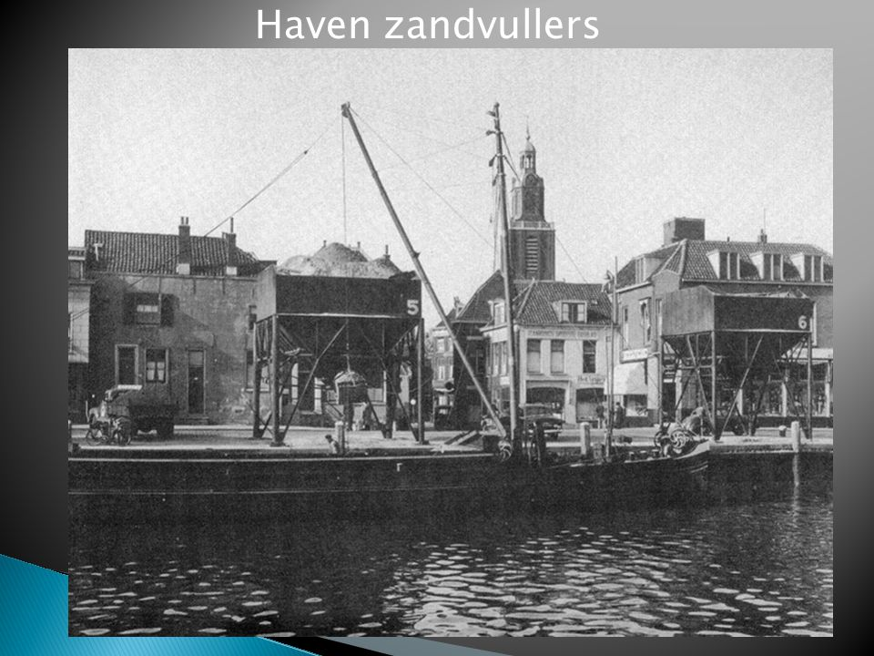 Haven zandvullers