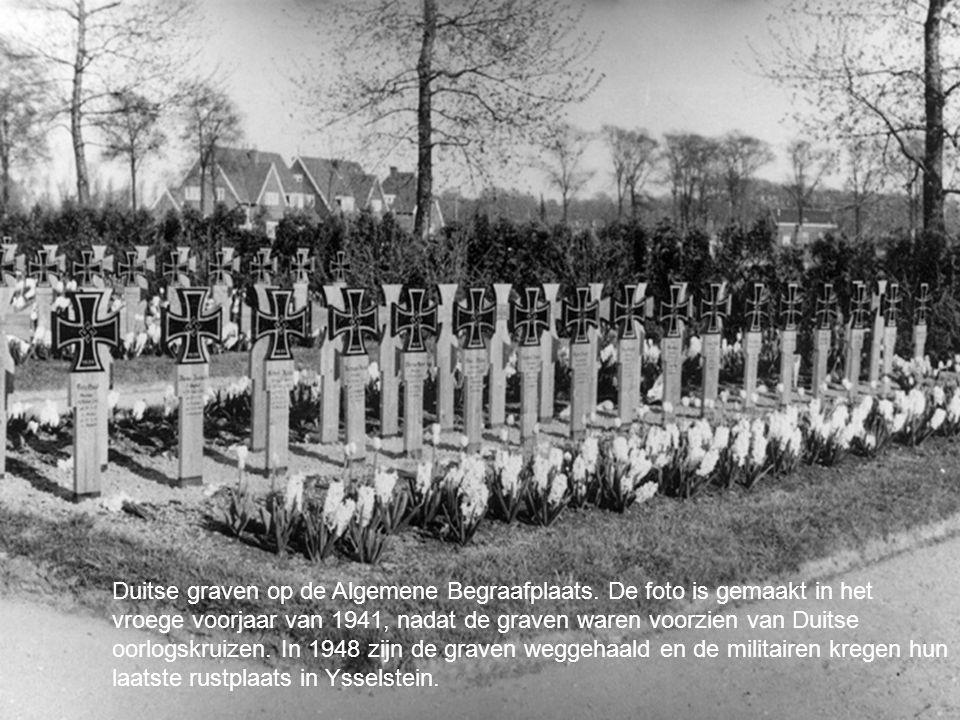 Duitse graven op de Algemene Begraafplaats
