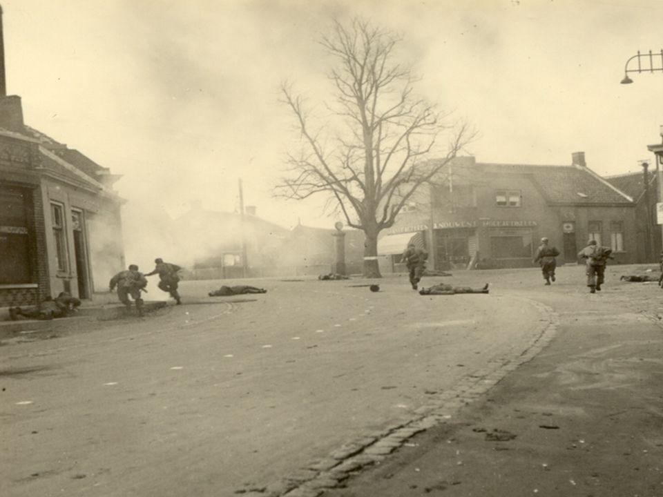 De verovering van het dorp Moerdijk in de ochtend van 10 mei 1940