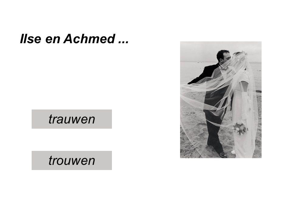 Ilse en Achmed ... trauwen trouwen