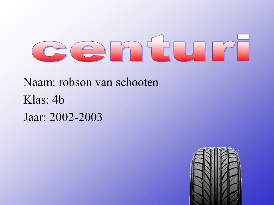 Naam: robson van schooten Klas: 4b Jaar: 2002-2003