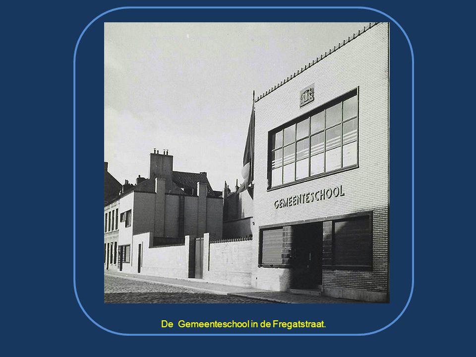 De Gemeenteschool in de Fregatstraat.