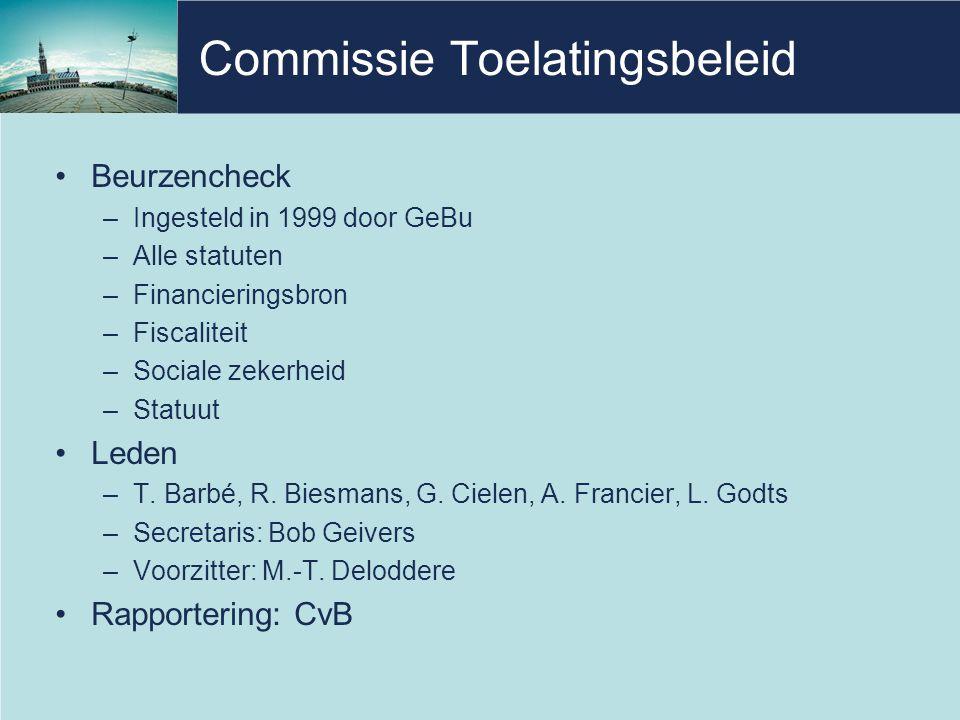 Commissie Toelatingsbeleid