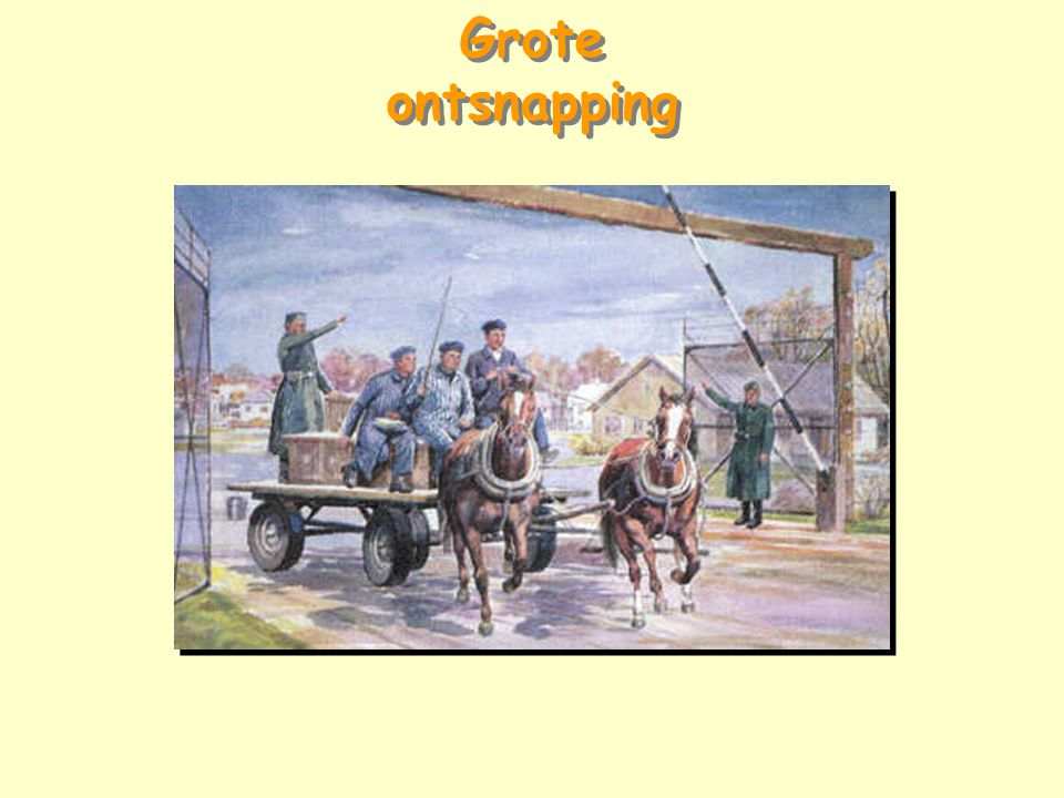 Grote ontsnapping