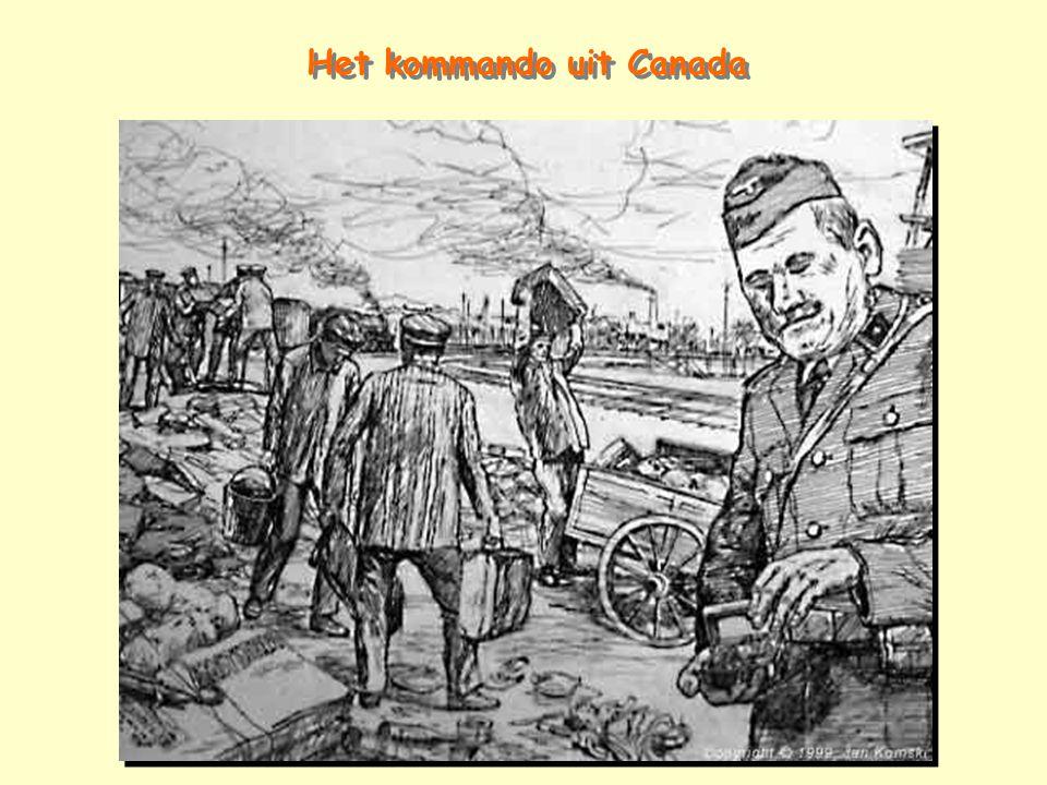 Het kommando uit Canada