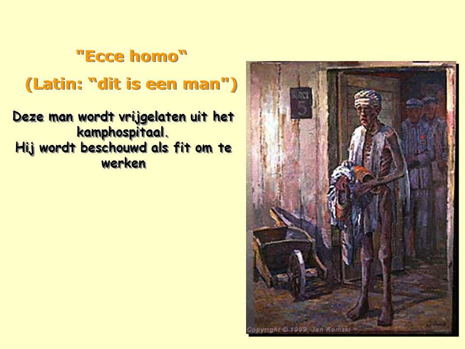 Ecce homo (Latin: dit is een man )