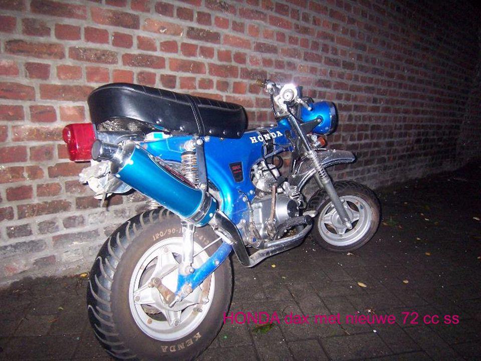 HONDA dax met nieuwe 72 cc ss