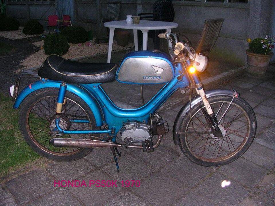 HONDA PS50K 1970