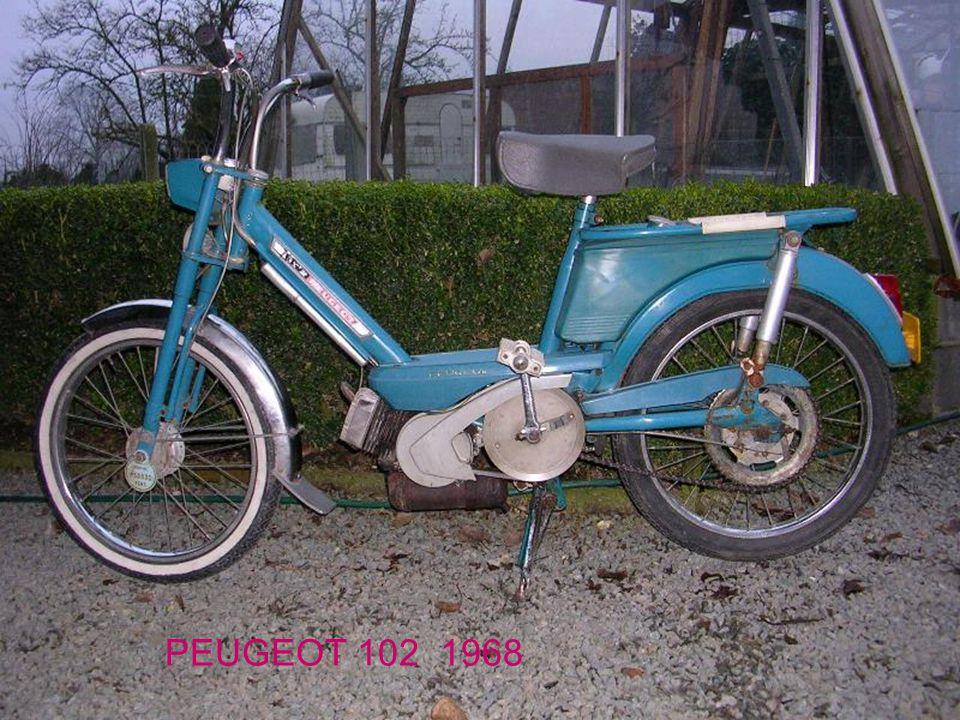 PEUGEOT 102 1968