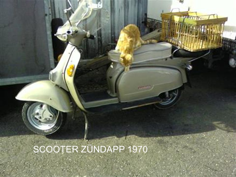 SCOOTER ZÜNDAPP 1970