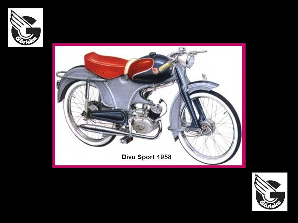 Diva Sport 1958 Diva Luxus-Schwing 1956 Type 342 1966