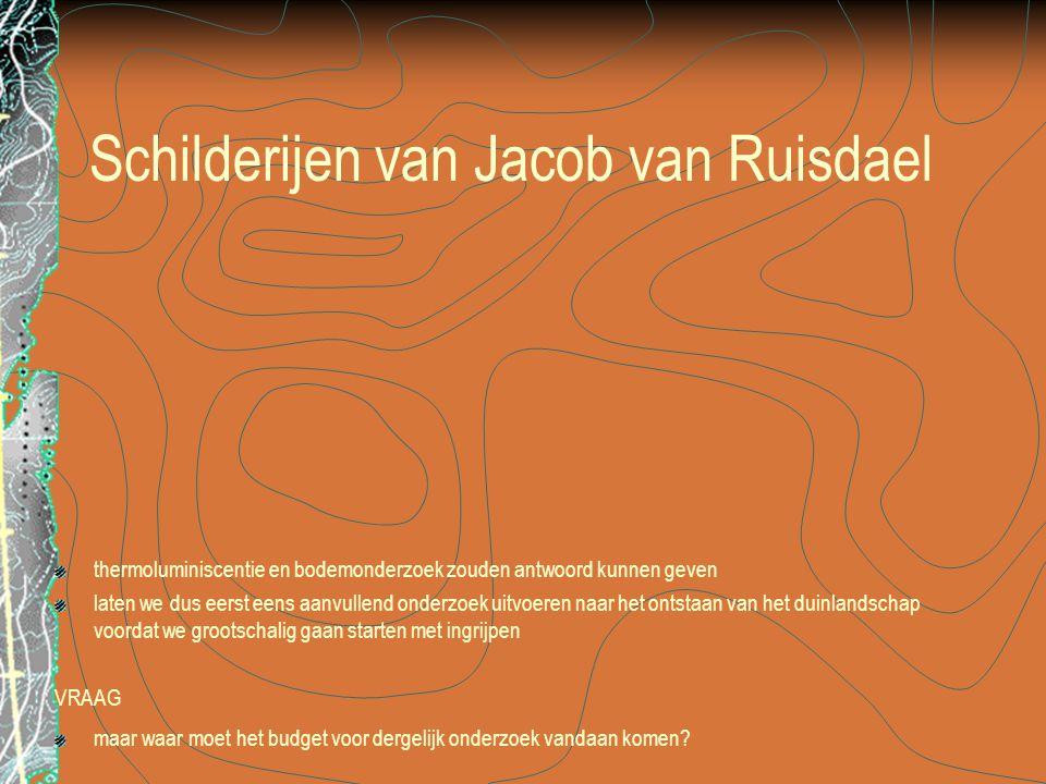 Schilderijen van Jacob van Ruisdael