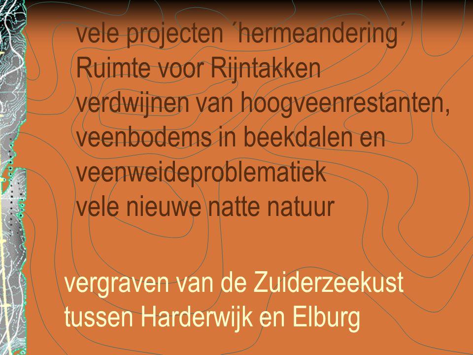 vergraven van de Zuiderzeekust tussen Harderwijk en Elburg
