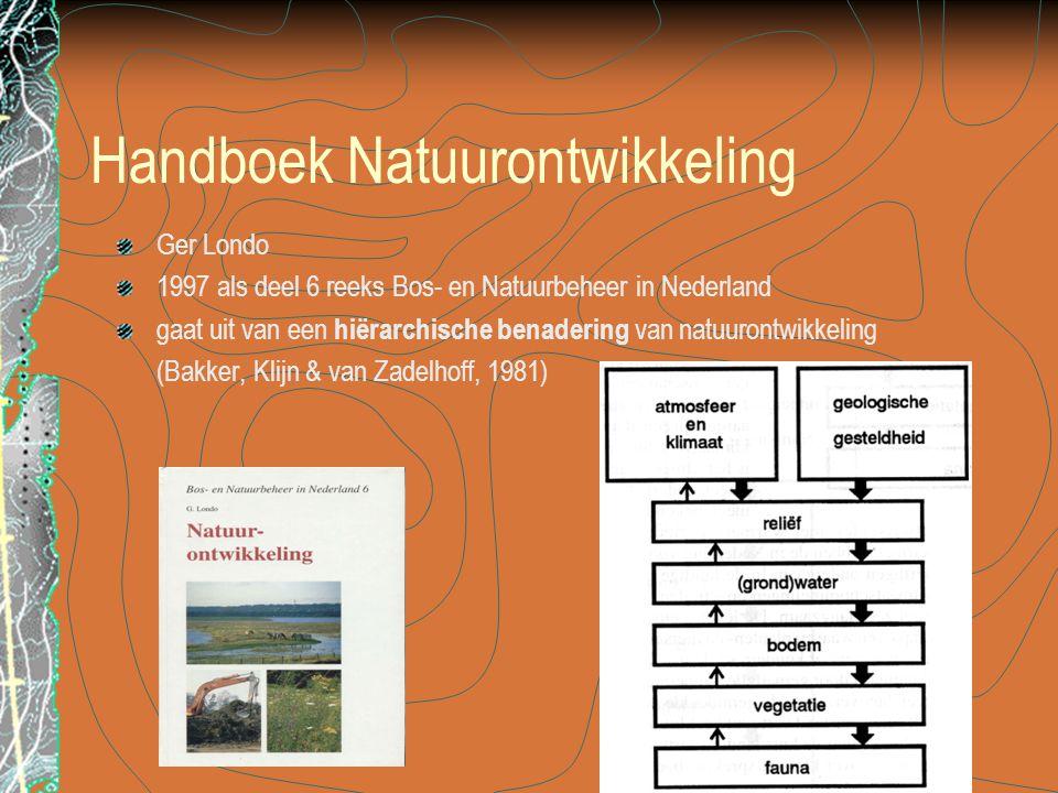 Handboek Natuurontwikkeling