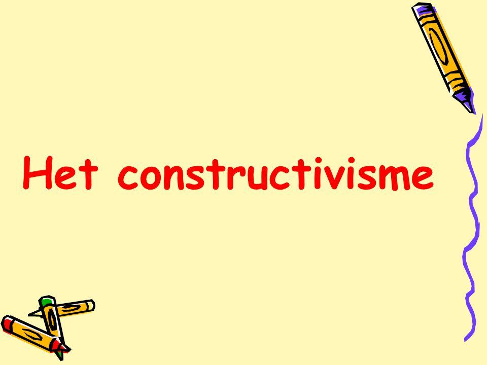 Het constructivisme