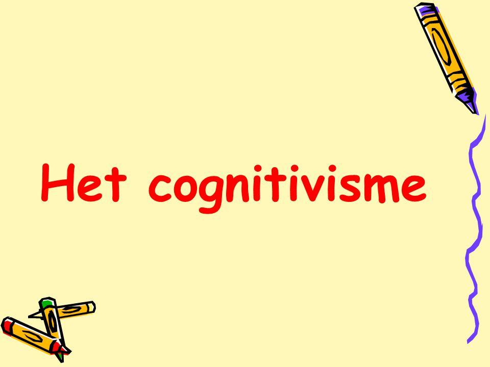 Het cognitivisme