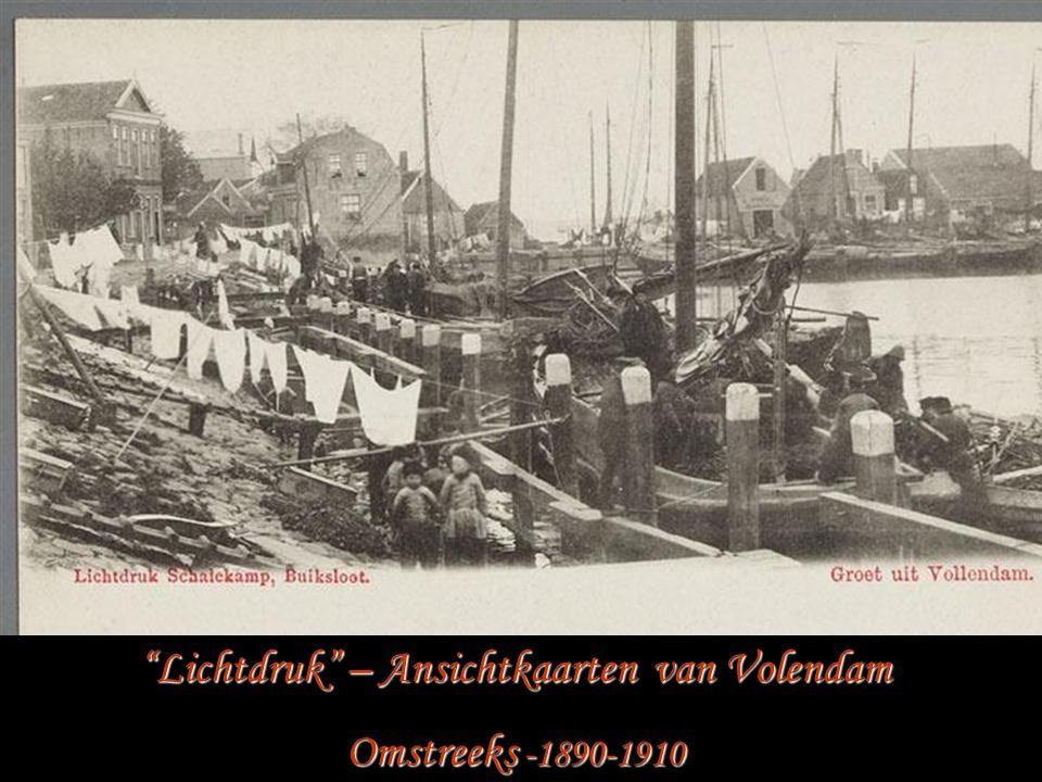 Lichtdruk – Ansichtkaarten van Volendam