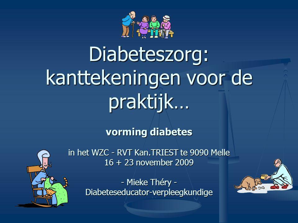 Diabeteszorg: kanttekeningen voor de praktijk…