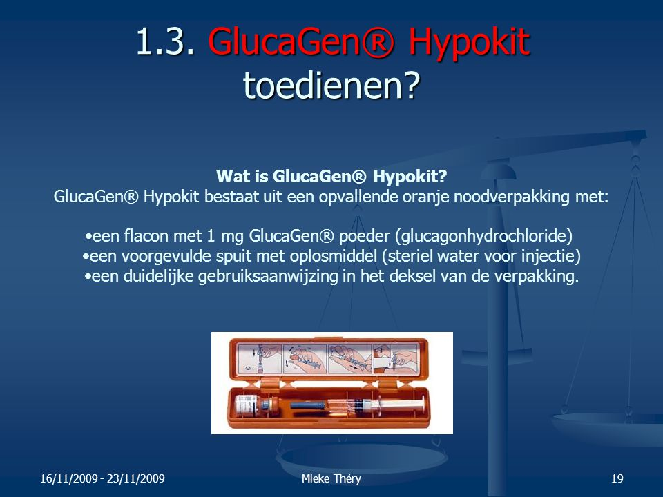 1.3. GlucaGen® Hypokit toedienen