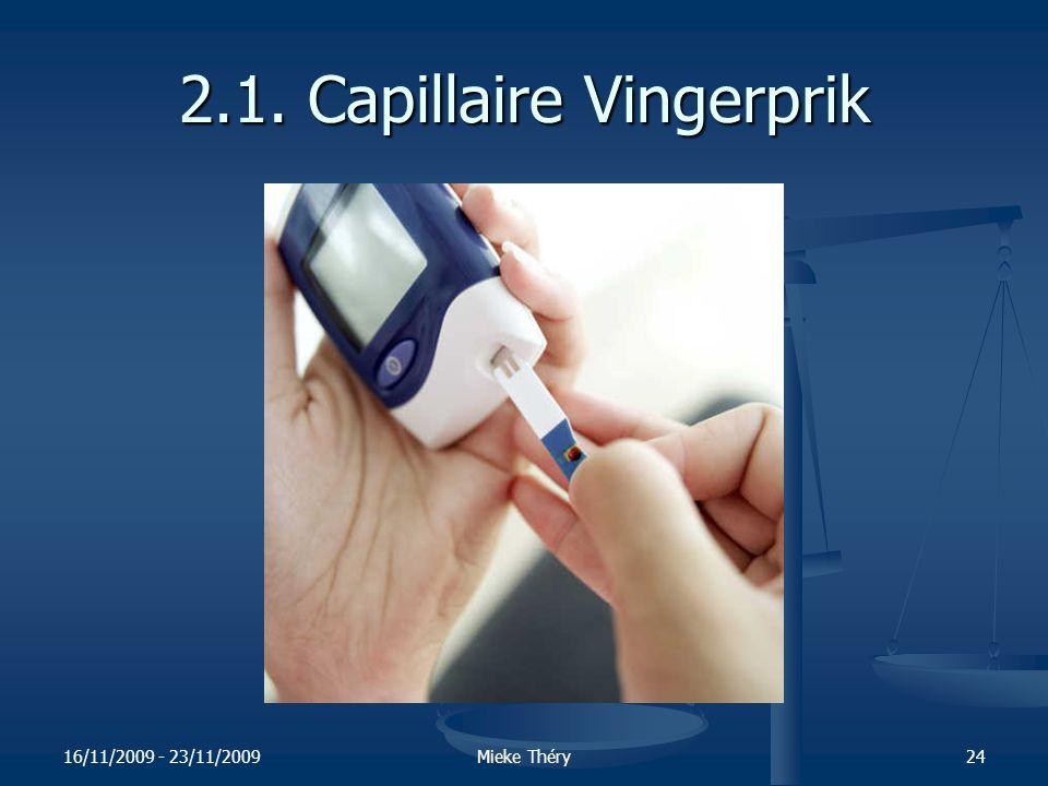 2.1. Capillaire Vingerprik