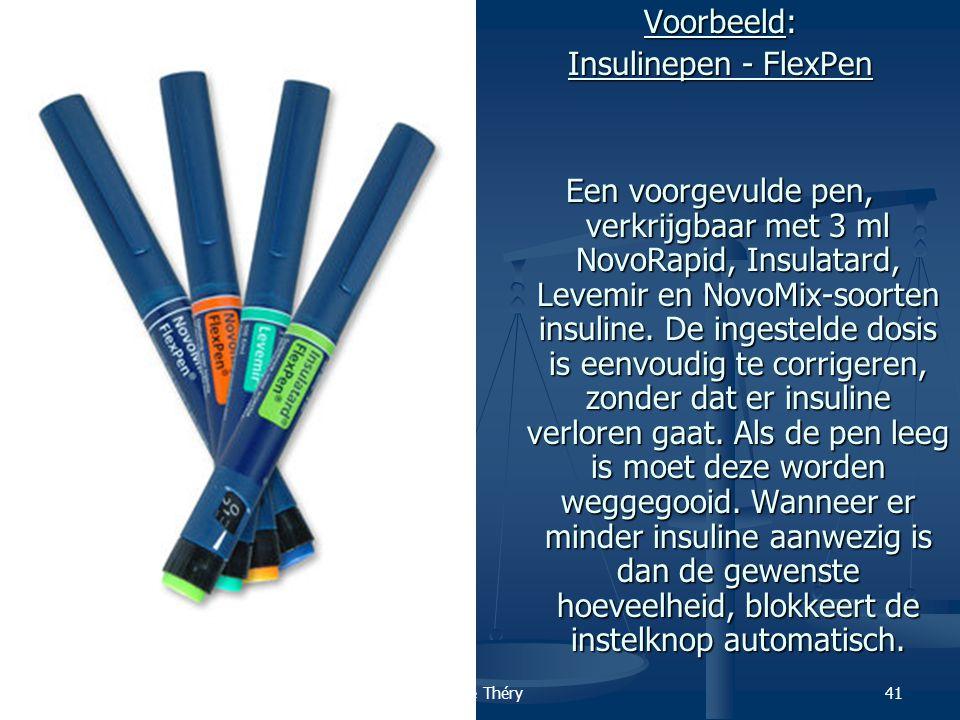 Voorbeeld: Insulinepen - FlexPen