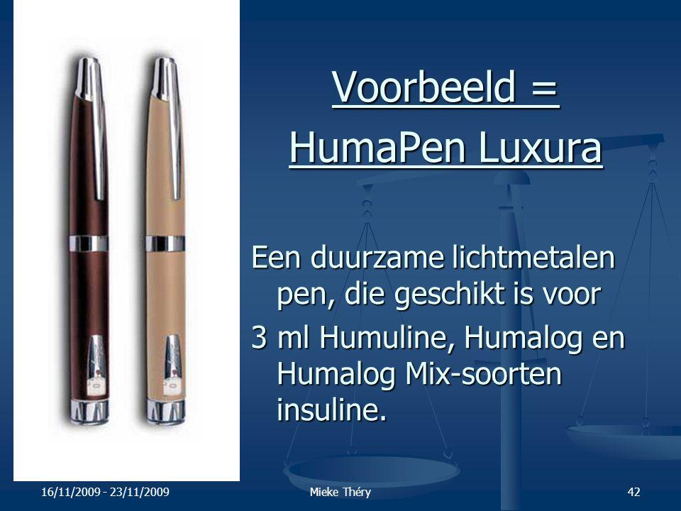 Voorbeeld = HumaPen Luxura