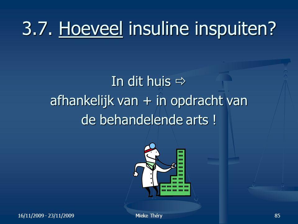 3.7. Hoeveel insuline inspuiten